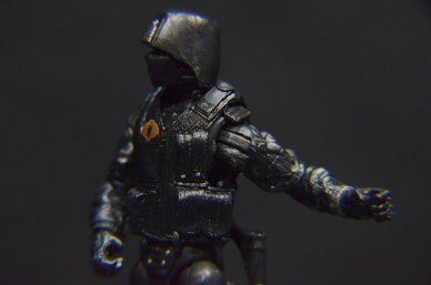 GI Joe Gung-Ho vs Cobra Shadow Guard -left detail
