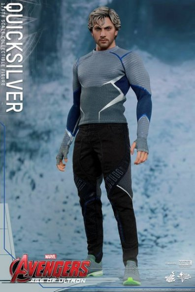 Hot Toys Quicksilver figure -standing straight
