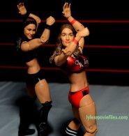 Nikki Bella Mattel WWE figure - Bella Twins dance
