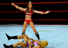Nikki Bella Mattel WWE figure - posing over Emma