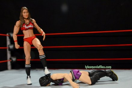 Nikki Bella Mattel WWE figure - stomping Paige