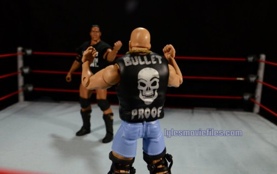 Stone Cold Steve Austin Hall of Fame -face off with The Rock