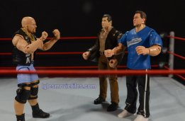 Stone Cold Steve Austin Hall of Fame -face off with Vince and Shane