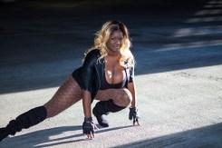 Venus Noire as Black Canary