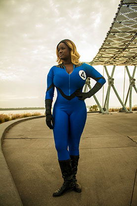 Venus Noire as Sue Storm Invisible Woman