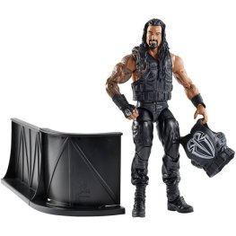 WWE Elite 38 - Roman Reigns holding vest