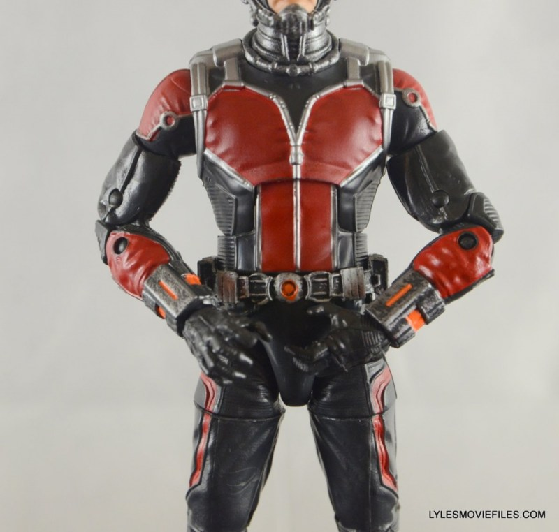 Ant-Man Marvel Legends figure review - belt detail