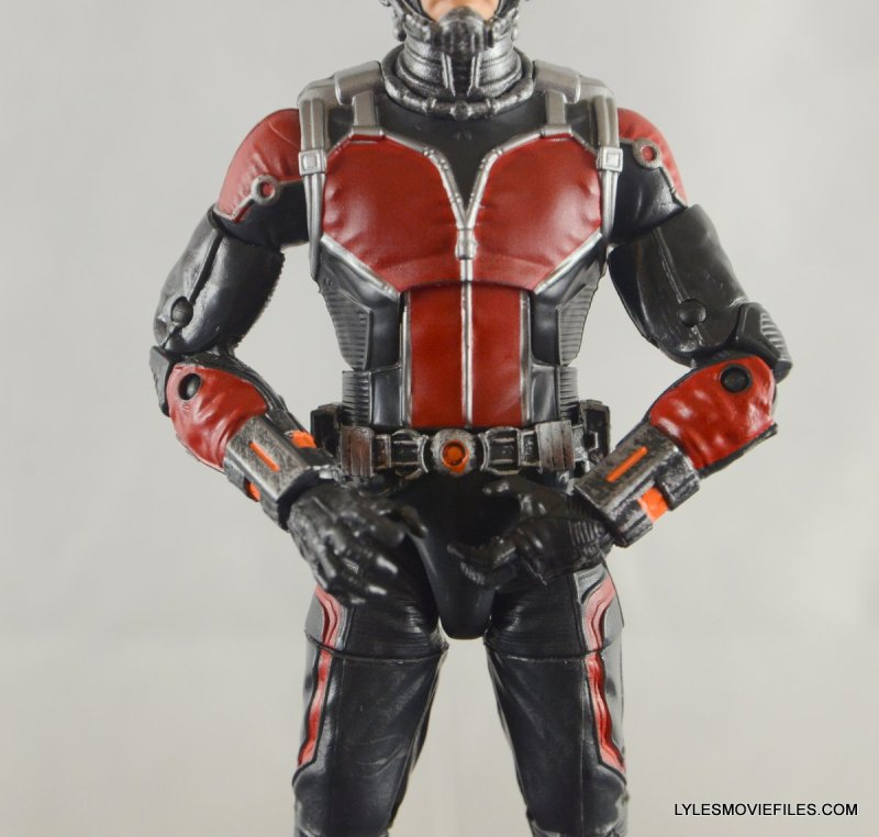 Ant-Man Marvel Legends figure review - belt detail
