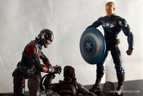 Ant-Man Marvel Legends figure review - helping The Winter Soldier
