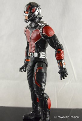 Ant-Man Marvel Legends figure review - left detail
