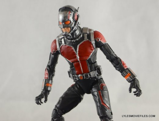 Ant-Man Marvel Legends figure review - looking down