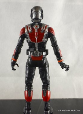 Ant-Man Marvel Legends figure review - rear detail