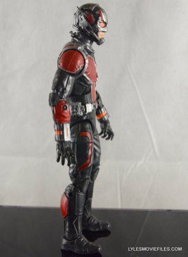 Ant-Man Marvel Legends figure review - right detail