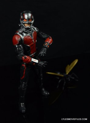 Ant-Man Marvel Legends figure review - with Antony