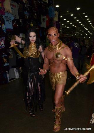 Baltimore Comic Con 2015 cosplay - 300 Rise of an Empire Artemisia and Xerxes