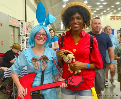 Baltimore Comic Con 2015 cosplay -anime pair