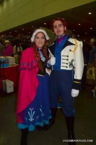 Baltimore Comic Con 2015 cosplay - Anna and Hans