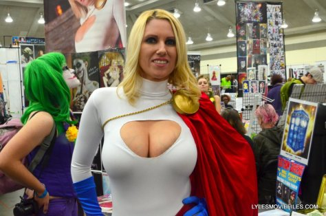 Baltimore Comic Con 2015 cosplay -Cara Nicole as Power Girl