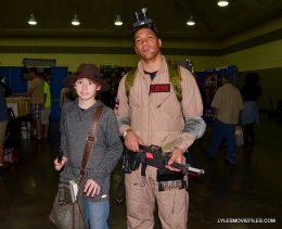Baltimore Comic Con 2015 cosplay -Carl and Winston from Ghostbusters
