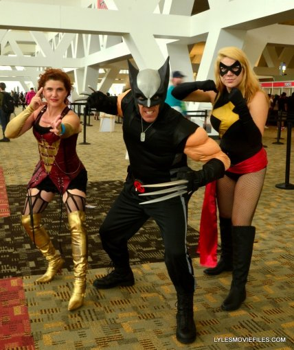 Baltimore Comic Con 2015 cosplay -Dark Phoenix, Wolverine and Warbird