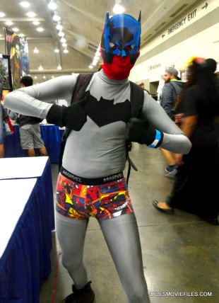 Baltimore Comic Con 2015 cosplay -Deadpool as Batman