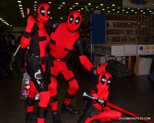 Baltimore Comic Con 2015 cosplay - Deadpool family