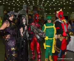 Baltimore Comic Con 2015 cosplay - Deadpool, Hydra and friends
