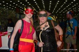Baltimore Comic Con 2015 cosplay - Flash and Green Arrow