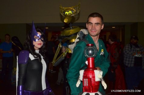 Baltimore Comic Con 2015 cosplay -Huntress and Mike Nelson