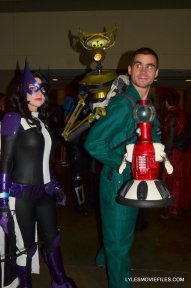 Baltimore Comic Con 2015 cosplay - Huntress and MST3K