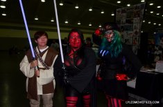 Baltimore Comic Con 2015 cosplay -Jedi and Sith