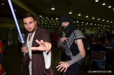 Baltimore Comic Con 2015 cosplay -Jedi and Smoke