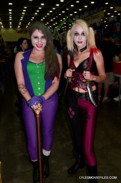 Baltimore Comic Con 2015 cosplay - Joker and Harley