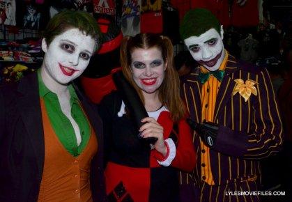 Baltimore Comic Con 2015 cosplay - Joker, Harley and Joker