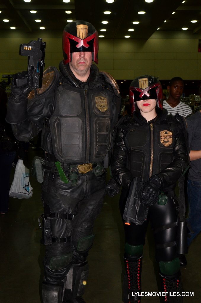 Baltimore Comic Con 2015 cosplay -Judge Dredd