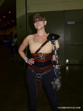 Baltimore Comic Con 2015 cosplay -Mad Max Fury Road Furoisa