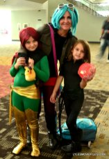 Baltimore Comic Con 2015 cosplay -Phoenix and family