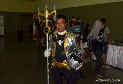 Baltimore Comic Con 2015 cosplay - ready for battle