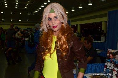 Baltimore Comic Con 2015 cosplay - Rogue close up
