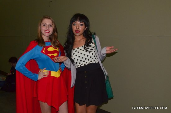 Baltimore Comic Con 2015 cosplay - Supergirl and