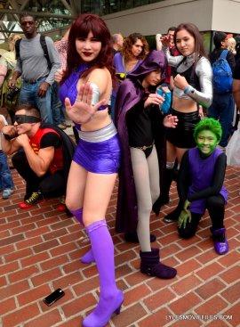 Baltimore Comic Con 2015 cosplay -Teen Titans