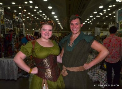Baltimore Comic Con 2015 cosplay -Tinker Bell and Peter Pan