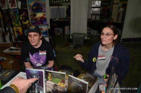 Baltimore Comic Con 2015 -Serena and Jessica