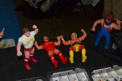 Baltimore Comic Con 2015 -WWF LJN figures