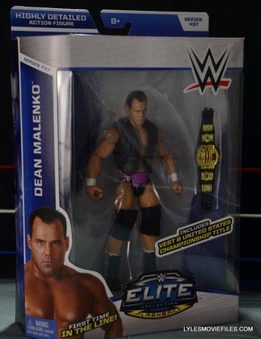 Dean Malenko WWE Elite 37 - front package