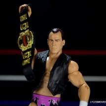 Dean Malenko WWE Elite 37 - holding the cruiserweight title
