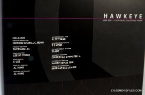 Hawkeye Hot Toys Avengers Age of Ultron - credits