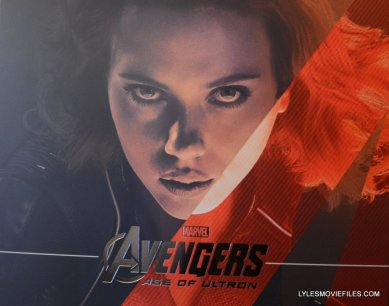 Hot Toys Avengers Age of Ultron Black Widow - close up front portrait package