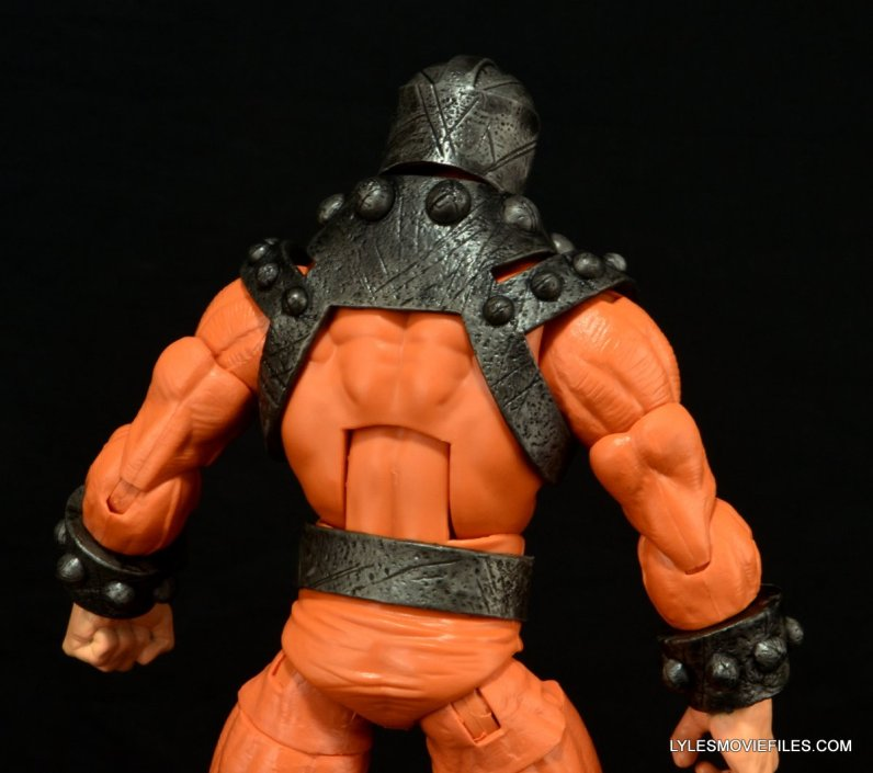 Marvel Legends Bulldozer review - rear