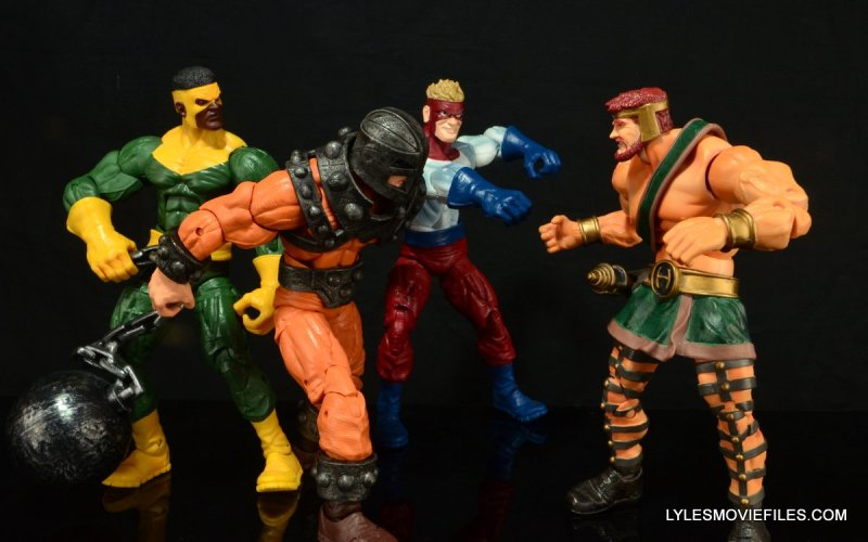 Marvel Legends Bulldozer review - Wrecking Crew vs Hercules